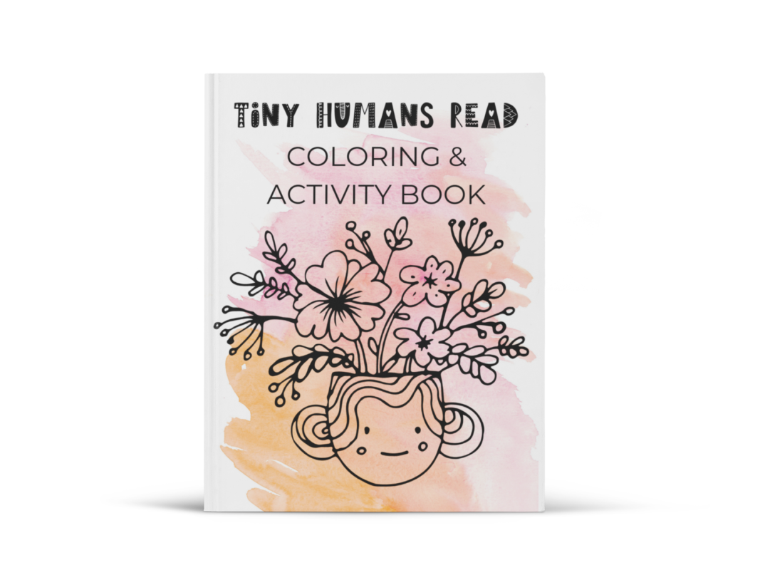 Free Coloring Book | Tiny Humans Read