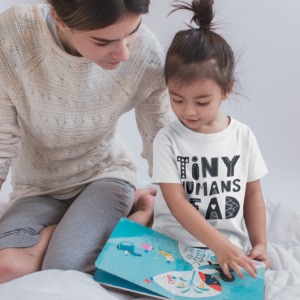 Tiny Humans Read Book Box for Kids - Subscription Box for Kids