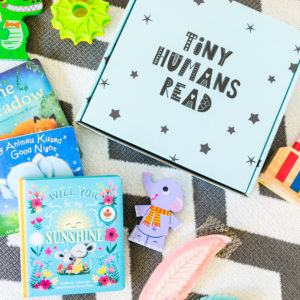 Tiniest Human Box Tiny Humans Read Book Box for Kids