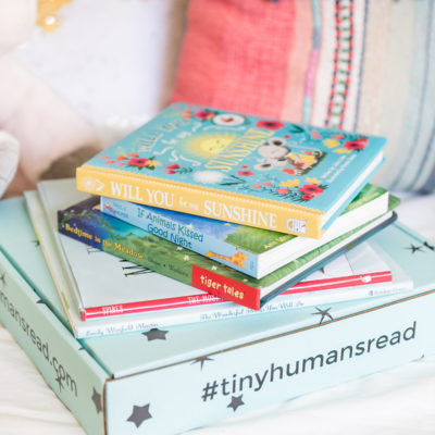 Tiny Human Box - Tiny Humans Read Book Box for Kids