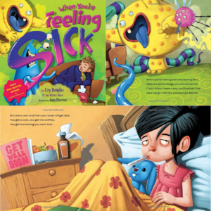 Get a FREE Book from Tiny Humans Read - When You're Feeling Sick Hardcover
