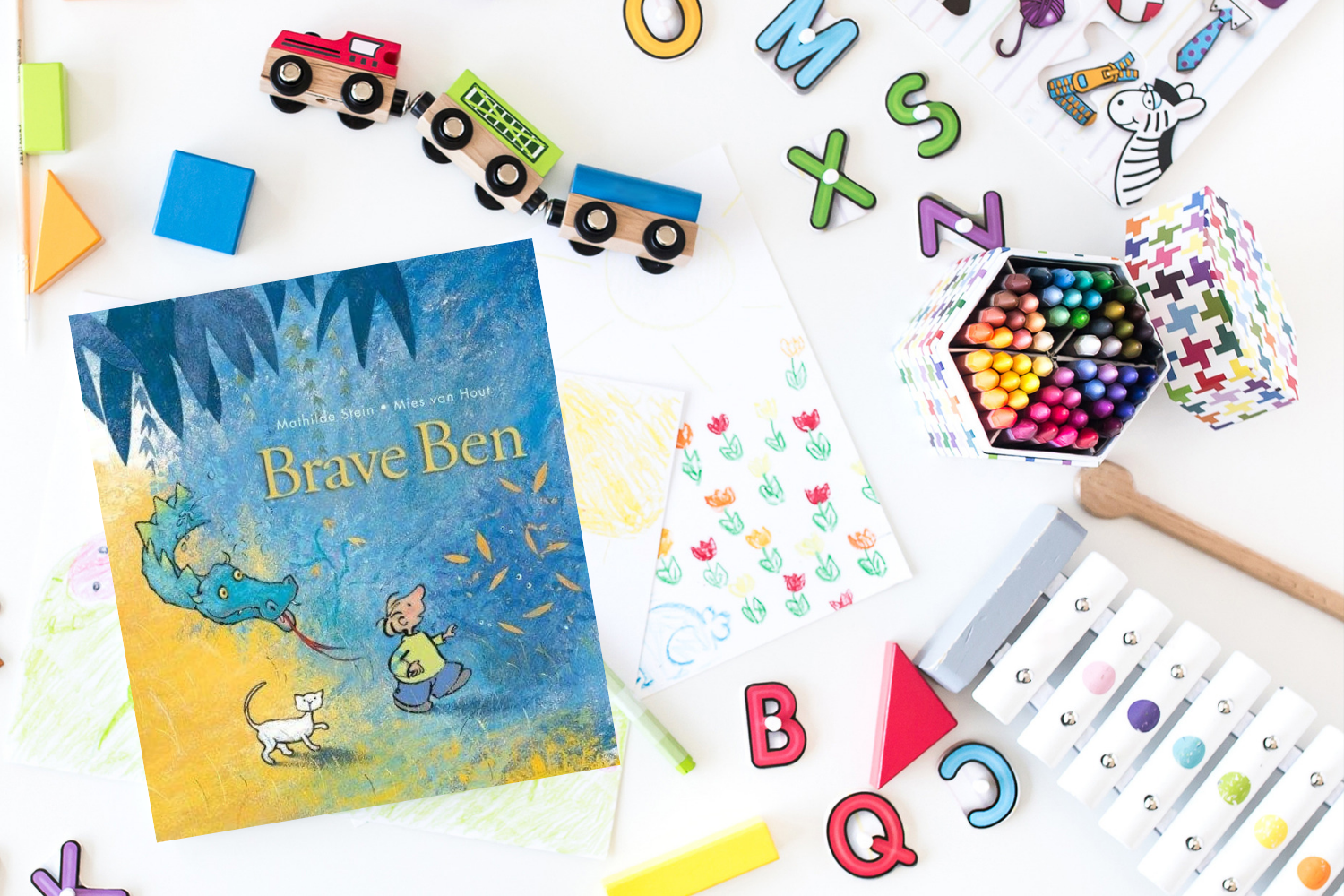 Brave Ben - Books from Past Boxes of Tiny Humans Read Kids Book Subscription Box