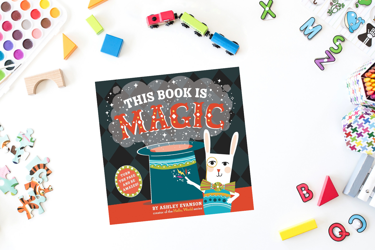 This Book is Magic - Books from Past Boxes of Tiny Humans Read  Kids Book Subscription Box
