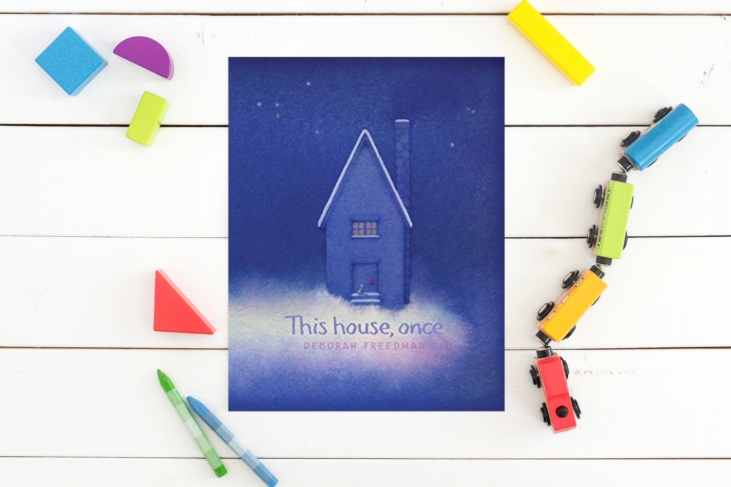 This house, once - Books from Past Boxes of Tiny Humans Read