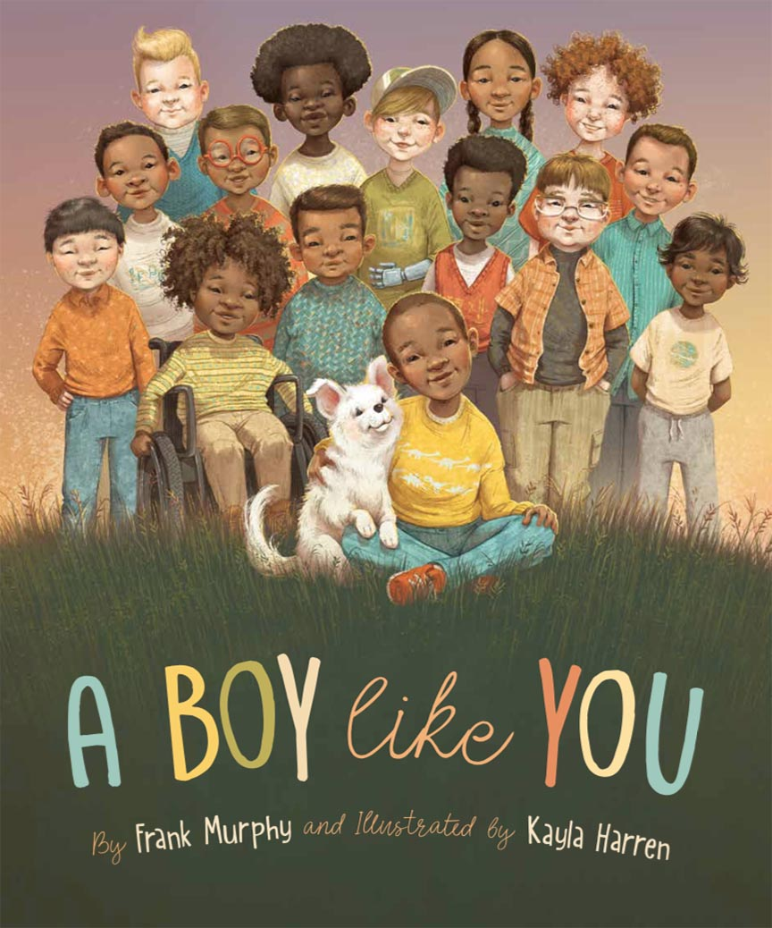 Meet Children's Book Illustrator Kayla Harren, A Boy Like You Children's Book