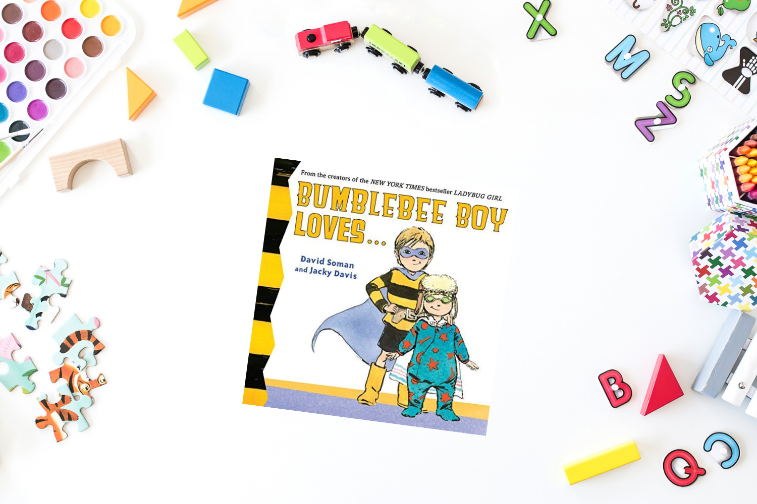 Bumblebee Boy Loves - Books from Past Boxes of Tiny Humans Read Kids Book Subscription Box