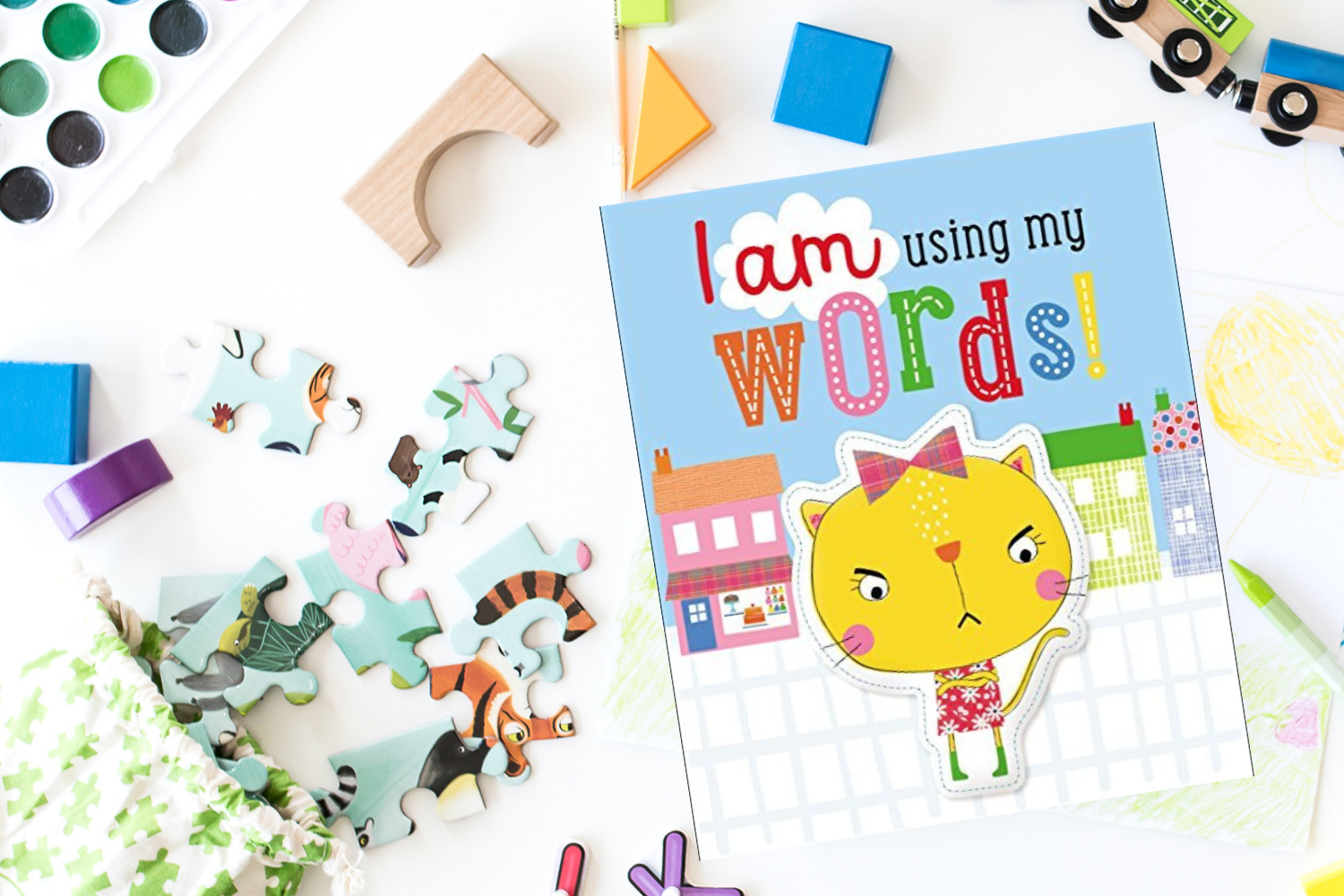 I am using my words! - Books from Past Boxes of Tiny Humans Read Kids Book Subscription Box