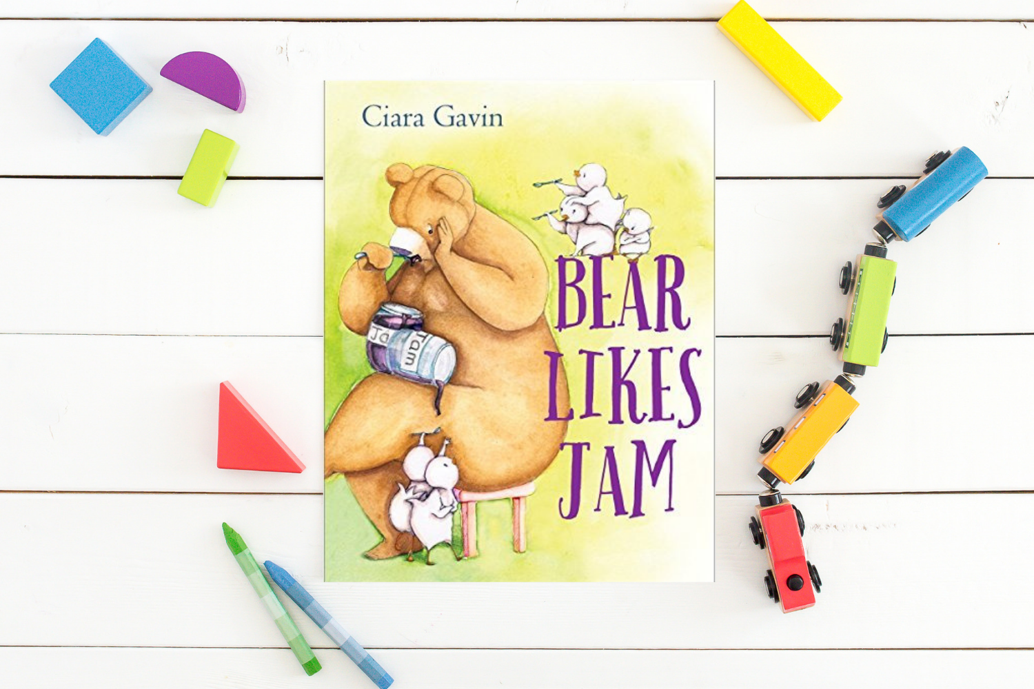 Bear Likes Jam - Books from Past Boxes of Tiny Humans Read Kids Book Subscription Box