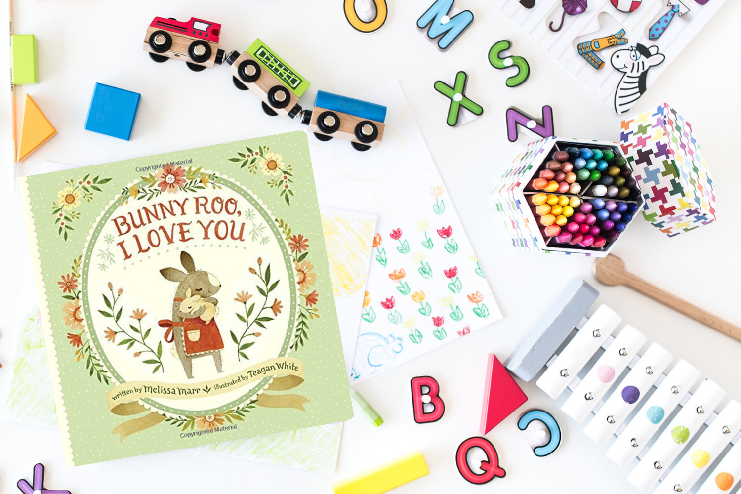 Bunny Roo I Love You - Books from Past Boxes of Tiny Humans Read Kids Book Subscription Box