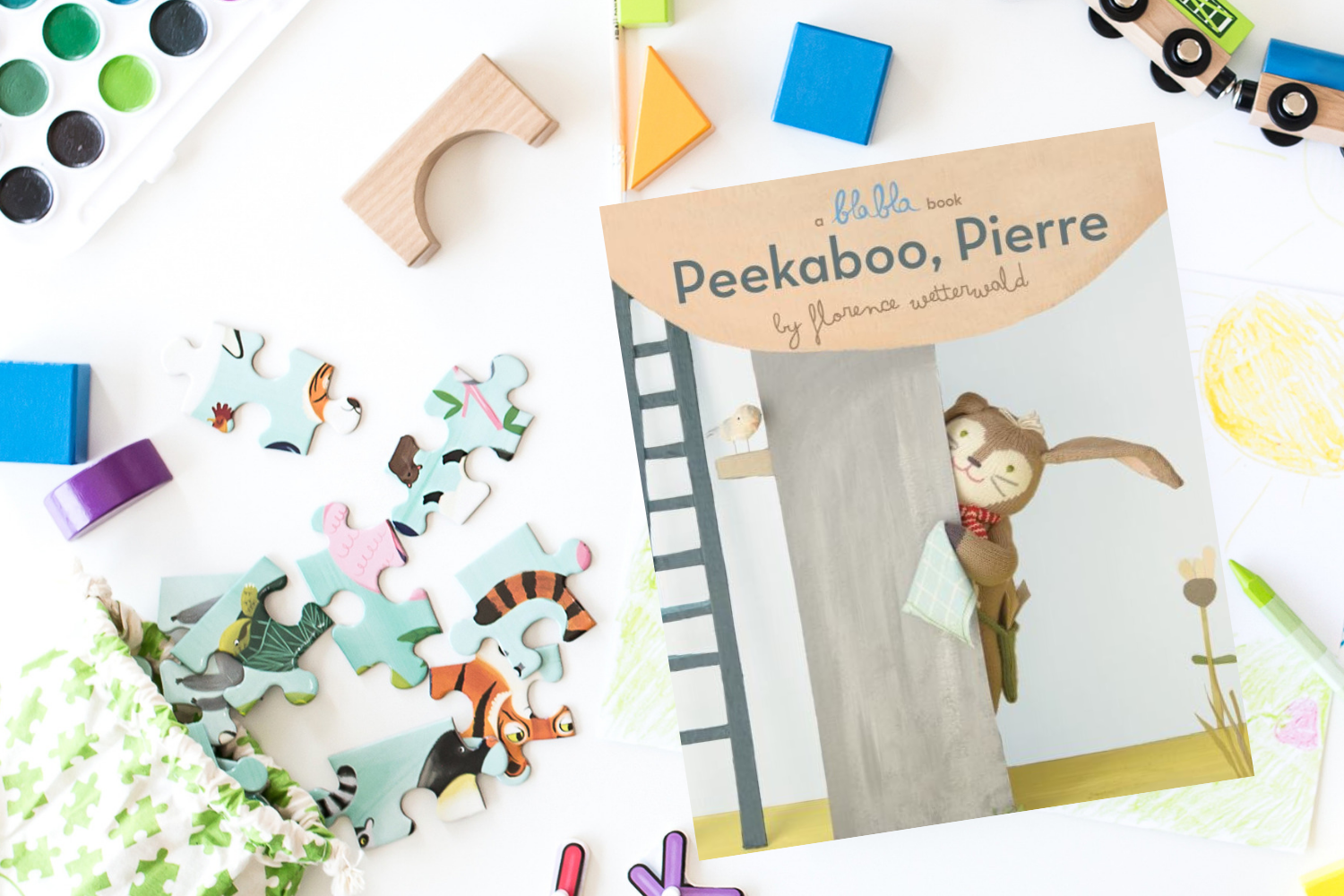 Peekaboo, Pierre - Books from Past Boxes of Tiny Humans Read Kids Book Subscription Box