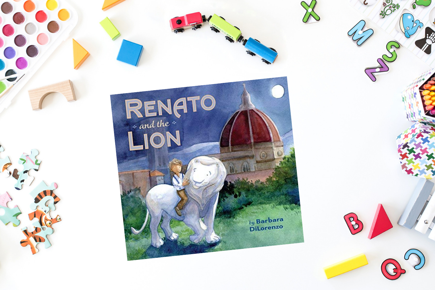 Renato and the Lion - Books from Past Boxes of Tiny Humans Read Kids Book Subscription Box