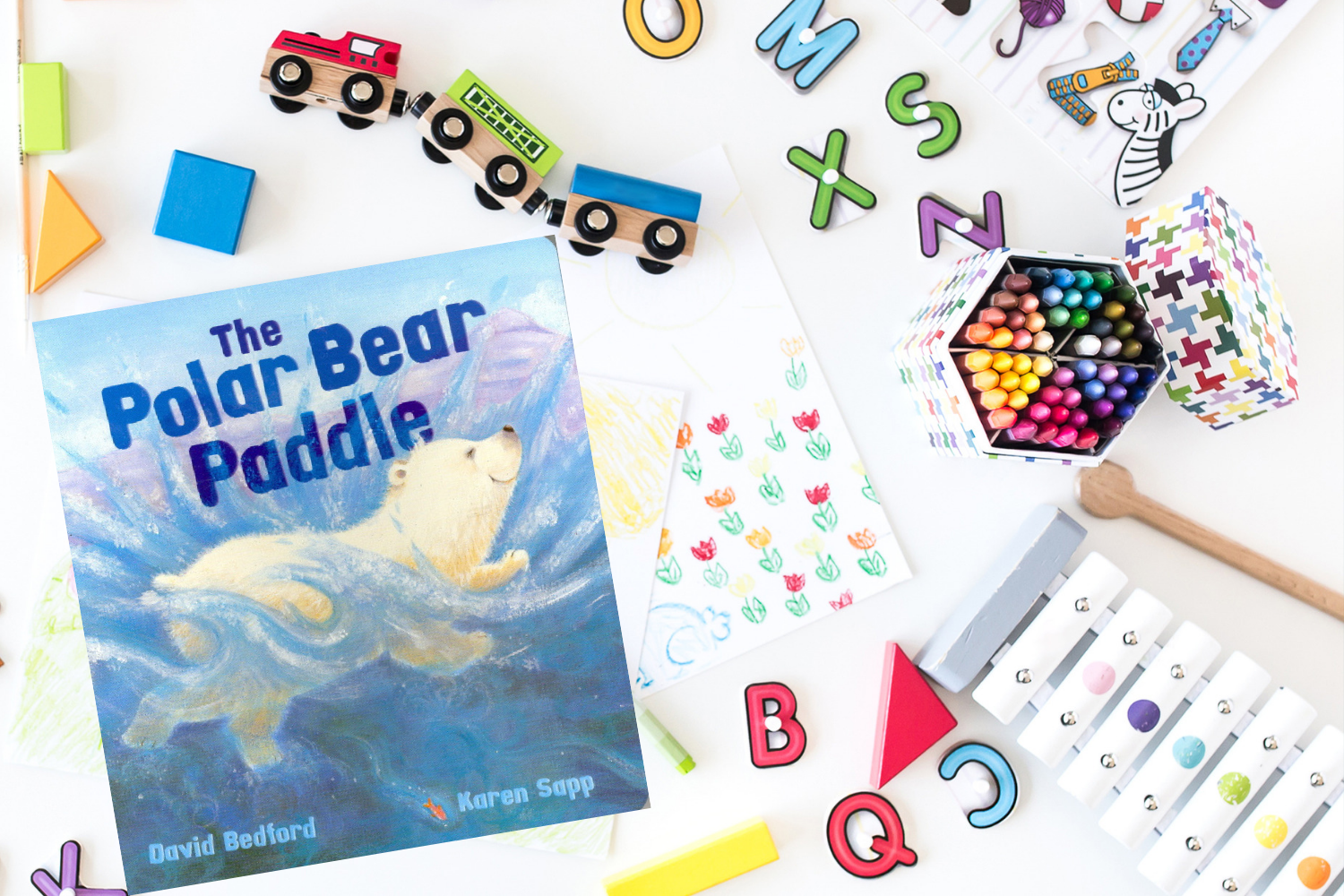 The Polar Bear Paddle - Books from Past Boxes of Tiny Humans Read Kids Book Subscription Box