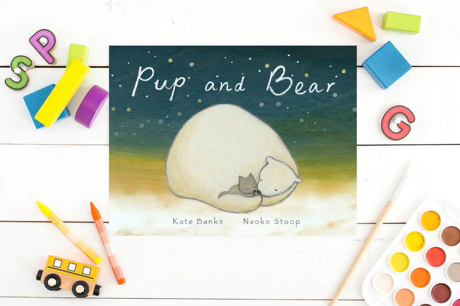 Pup and Bear - Books from Past Boxes of Tiny Humans Read Kids Book Subscription Box