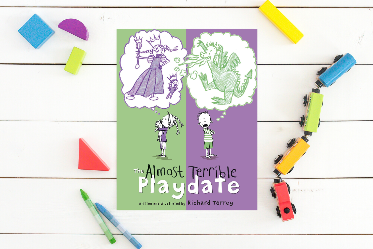 The Almost Terrible Playdate - Books from Past Boxes of Tiny Humans Read Kids Book Subscription Box