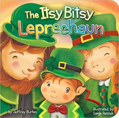 The Itsy Bitsy Leprechaun - Books from Past Boxes of Tiny Humans Read Kids Book Subscription Box