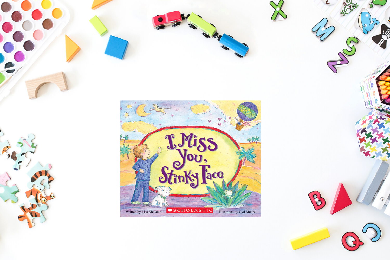 I Miss You, Stinky Face - Books from Past Boxes of Tiny Humans Read Kids Book Subscription Box