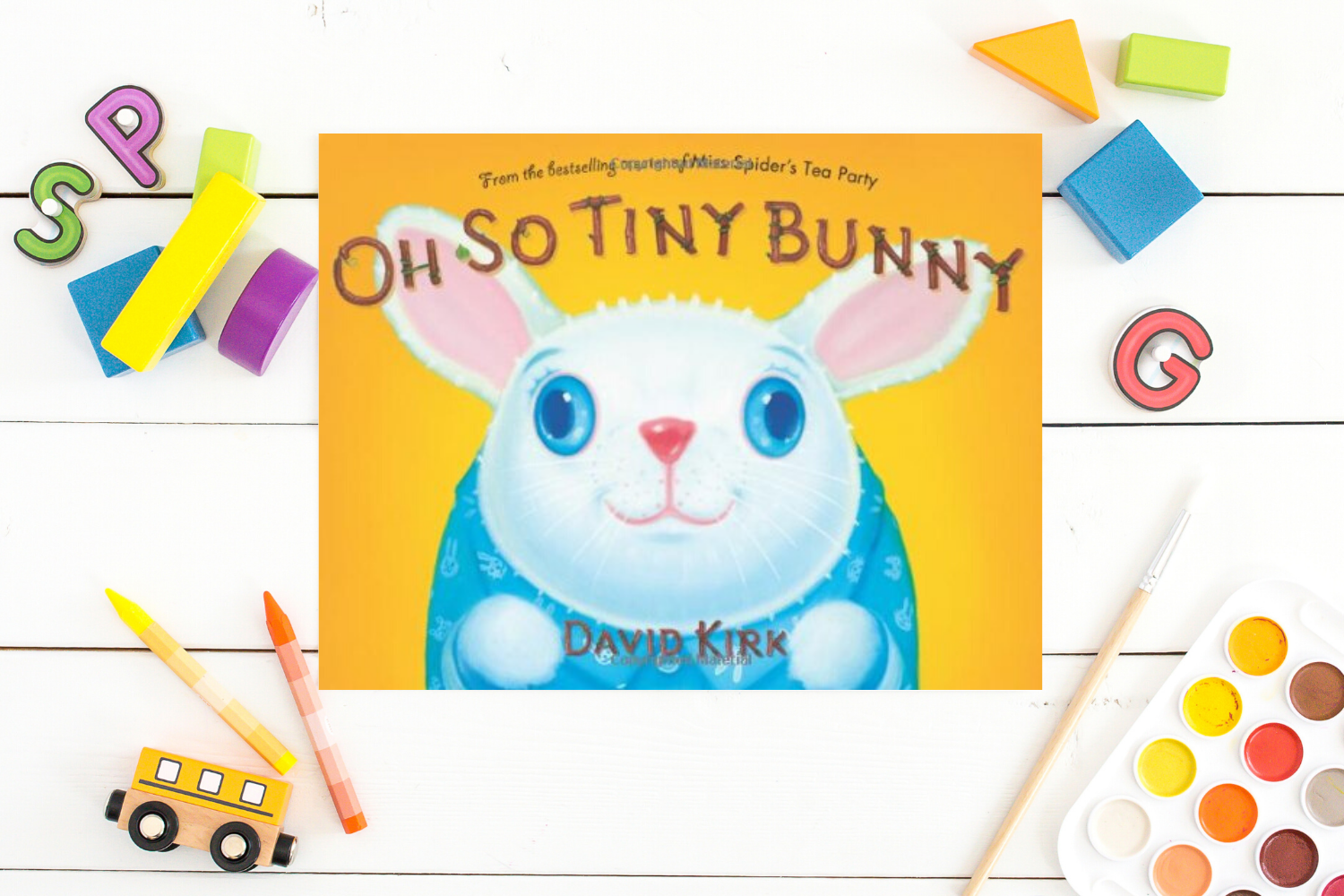 Oh So Tiny Bunny - Books from Past Boxes of Tiny Humans Read Kids Book Subscription Box